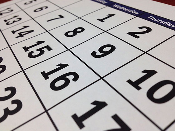 Have a family calendar - How Can Working Moms Manage Kids?