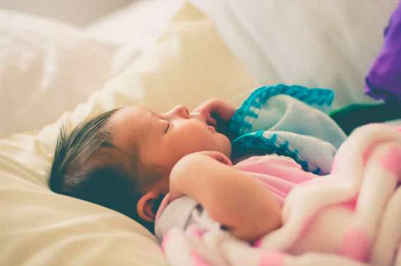 Stick to the routine - Tips for Helping Your Child to Sleep Well